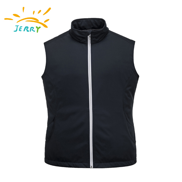 knit softshell vest