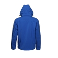 Men Soft Shell Jacket With Detachable Hood