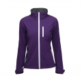 Casual Ski Hooded Women Softshell Jacket