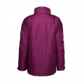 Women's Fashion Casual Waterproof Windbreaker Polyester Outdoor Jacket