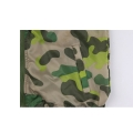 Camo kids packable tape seam rainwear