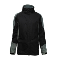Stand Collar Contrast Color Men's Softshell Jacket