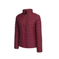 Multi Color Zipper Winter Casual Women's Down Jacket