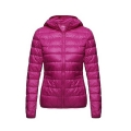 2017 New Winter Women 90% White Duck Down Jacket