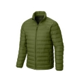 Ultra Light Men 100% Polyester Stand Collar Goose Down Jacket