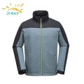 100% Polyester 3 Layer Waterproof And Breathable Softshell Jacket For Men