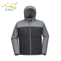 Men's Constract Color 3 Layers Waterproof Softshell Jacket